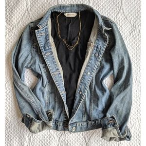 Gap Factory Stretch Blue Jean Jacket
